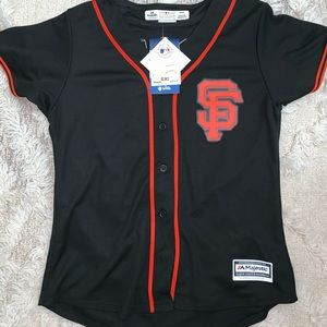 Sf Giants women's jersey size Medium
